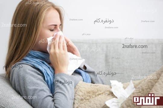 درمان های خانگی برای کاهش نشانه های سرماخوردگی