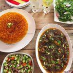 طرز تهیه خورشت گوشت و پسته هندی