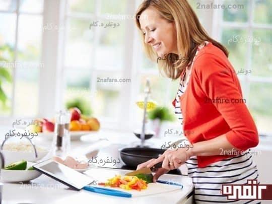 آشپزی و کاهش استرس