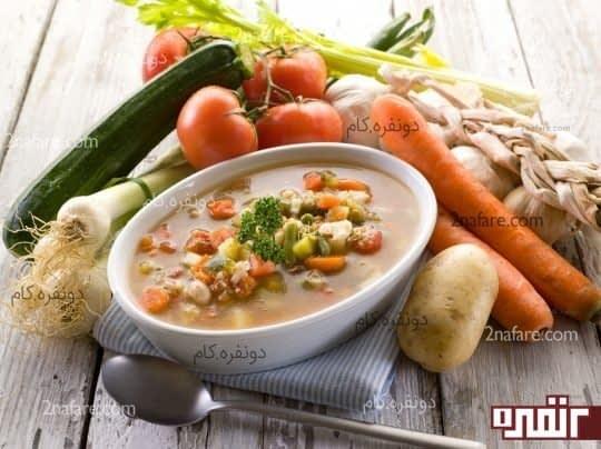 سوپ و سرما خوردگی
