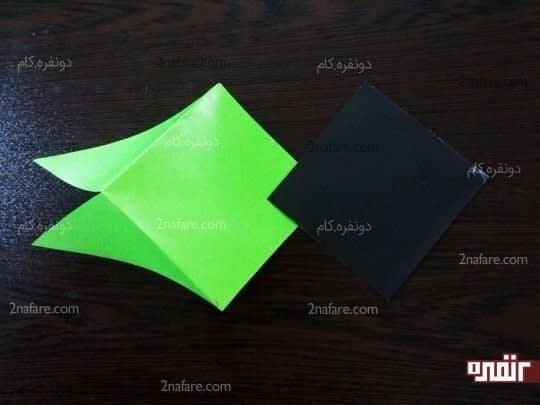 بریدن کاغذ رنگی ها