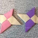 آموزش  اوریگامی ستاره نینجا