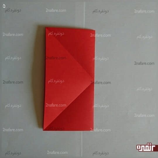 مربع را از طول تا بزنید