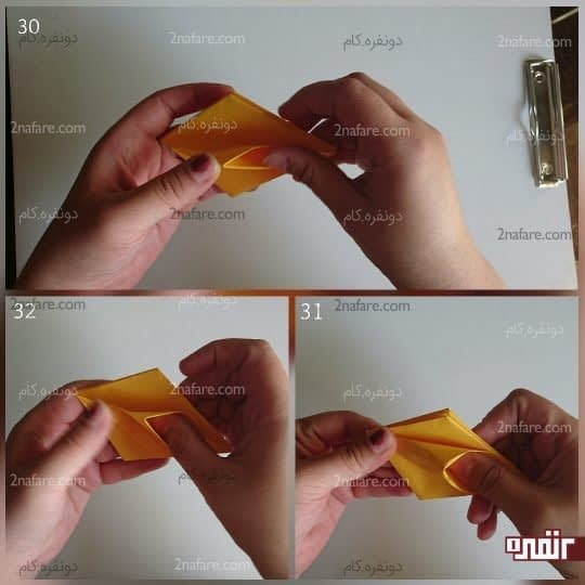 هرکدام را باز کنید و بعد پهن کنید