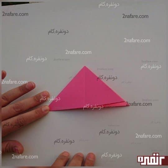 یک مثلث درست می شود