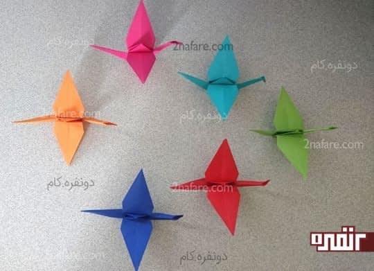 درنای اوریگامی