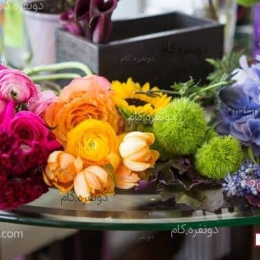 ایده هایی برای تزیینات گل ها