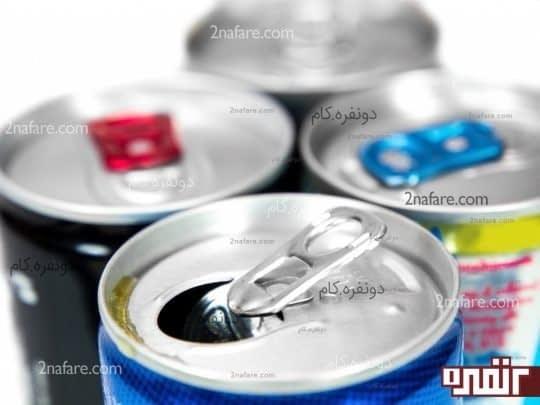 نوشیدنی های انرژی زا و تسریع سوخت ساز بدن