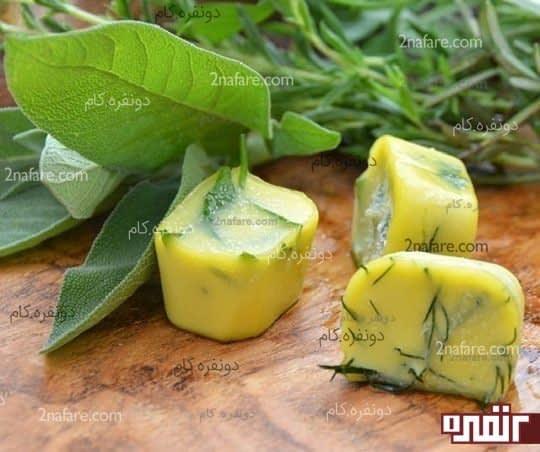 منجمد کردن سبزی ها در روغن زیتون