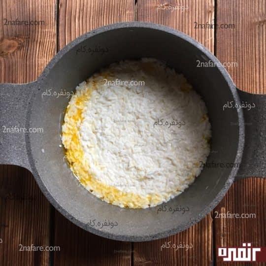 لایه اول، برنج ماستی