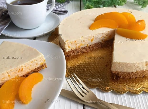 چیز کیک هلو