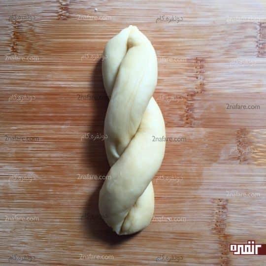 شکل دادن به خمیر