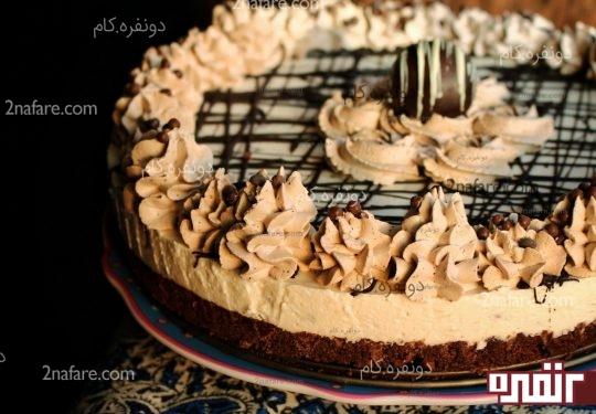 چیز کیک موز نارگیل