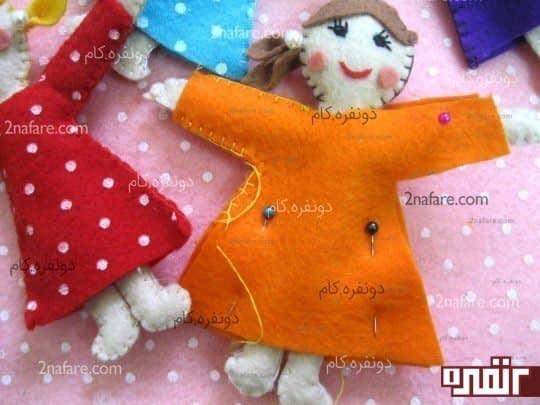 دوخت لباس عروسک