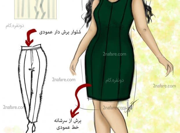 لباس مناسب اندام خود را بشناسیم