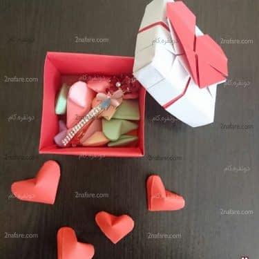 جعبه های قلب با قلب های کوچک