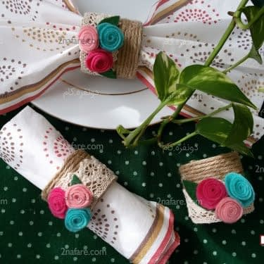 حلقه های دستمال سفره