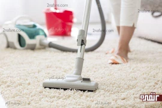 تمیز کردن فرش ها