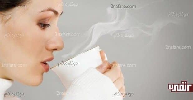 تاثیر شگفت انگیز نوشیدنی های گرم در صبح ناشتا
