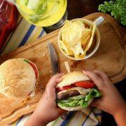 مینی همبرگر خانگی
