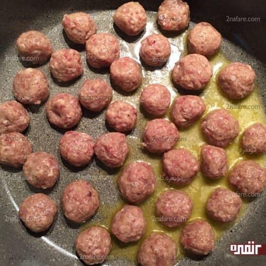 پختن گوشت قلقلی