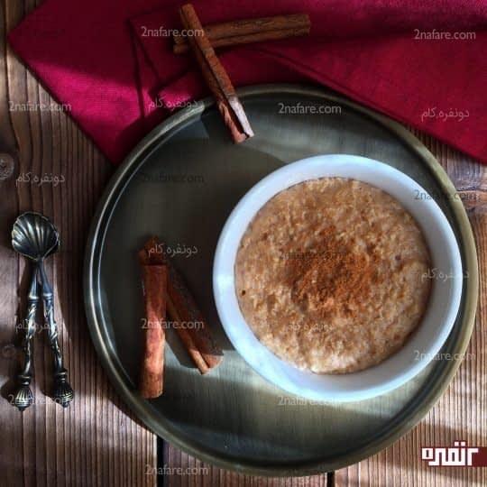 اوتمیل صبحانه ای سالم و رژیمی