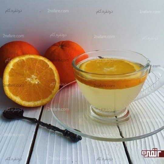 دمنوش پوست پرتقال
