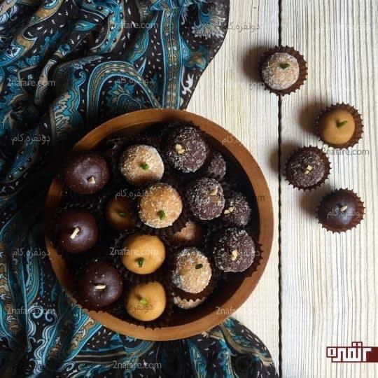 شیرینی برشتوک با طعم های مختلف مخصوص عید
