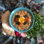 طرز تهیه کشک بادمجان رژیمی