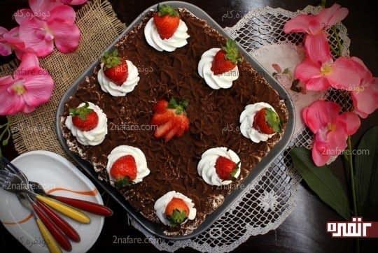کیک یخچالی