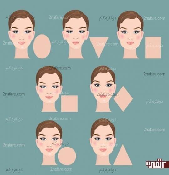 شکل های پایه صورت