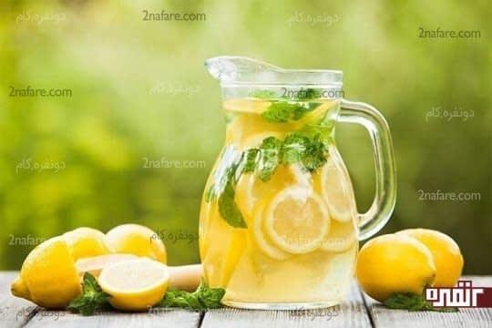 سمزدایی از بدن با مصرف آب گرم و لیمو