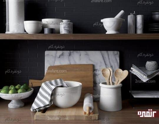 وسایل مرمرین آشپزخانه