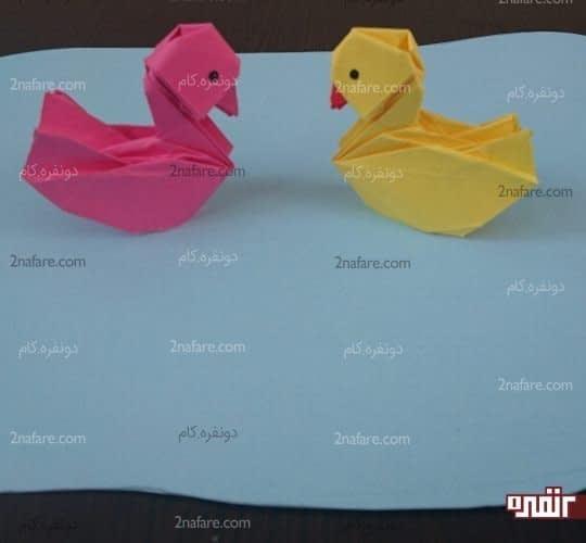 اردک های کاغذی