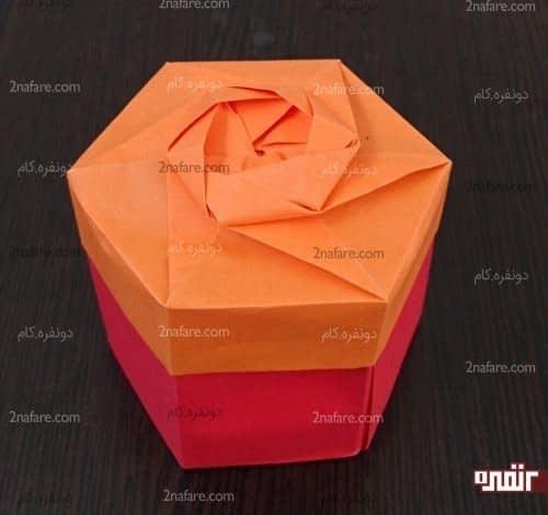 جعبه اوریگامی