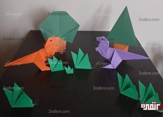 دایناسورهای زیبا
