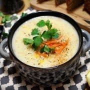 سوپ شیر فرانسوی