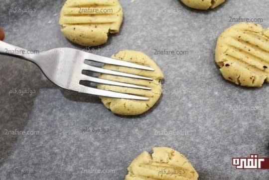 فرم دادن به خمیر شیرینی