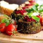 طرز تهیه کوکو سبزی قالبی در فر (رژیمی)