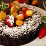 کیک شیفون کوکا 1
