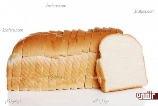 مصرف نان های سبوس دار را به جای نان سفید در رژیم غذایی خود قرار دهید