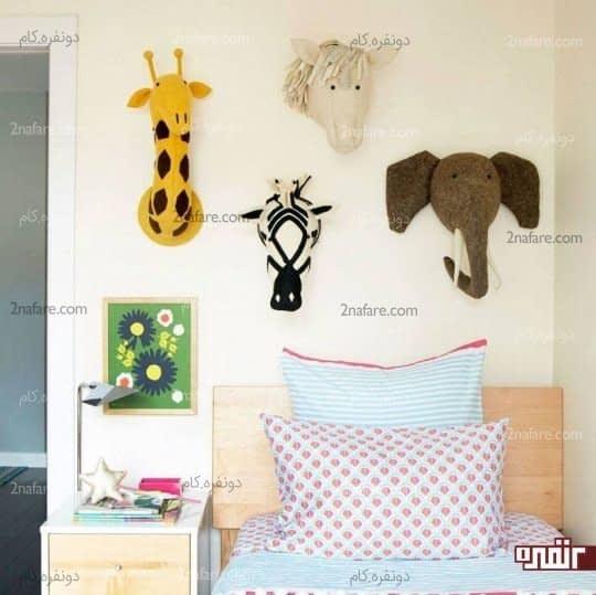 استفاده از وسایل مورد علاقه در دکوراسیون اتاق خواب
