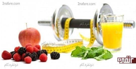 رژیم غذایی مناسب و صحیح را انتخاب کنید