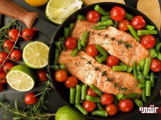 مصرف وعده های غذایی کامل