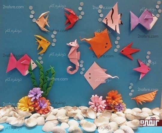 انواع ماهی ها در دریا