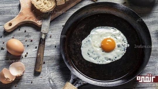 با مصرف تخم مرغ عضلات قویتری داشته باشید