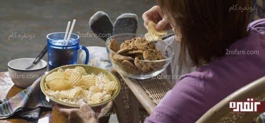 بعد از مصرف غذاهای چرب چه باید کرد ؟