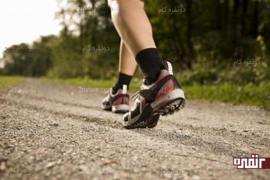 بهترین ورزش برای سوزاندن کالری غذاهای چرب، پیاده روی است