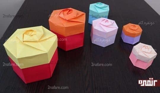 جعبه در سایزهای مختلف
