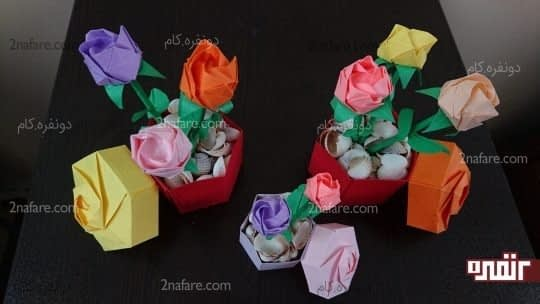 جعبه و گل